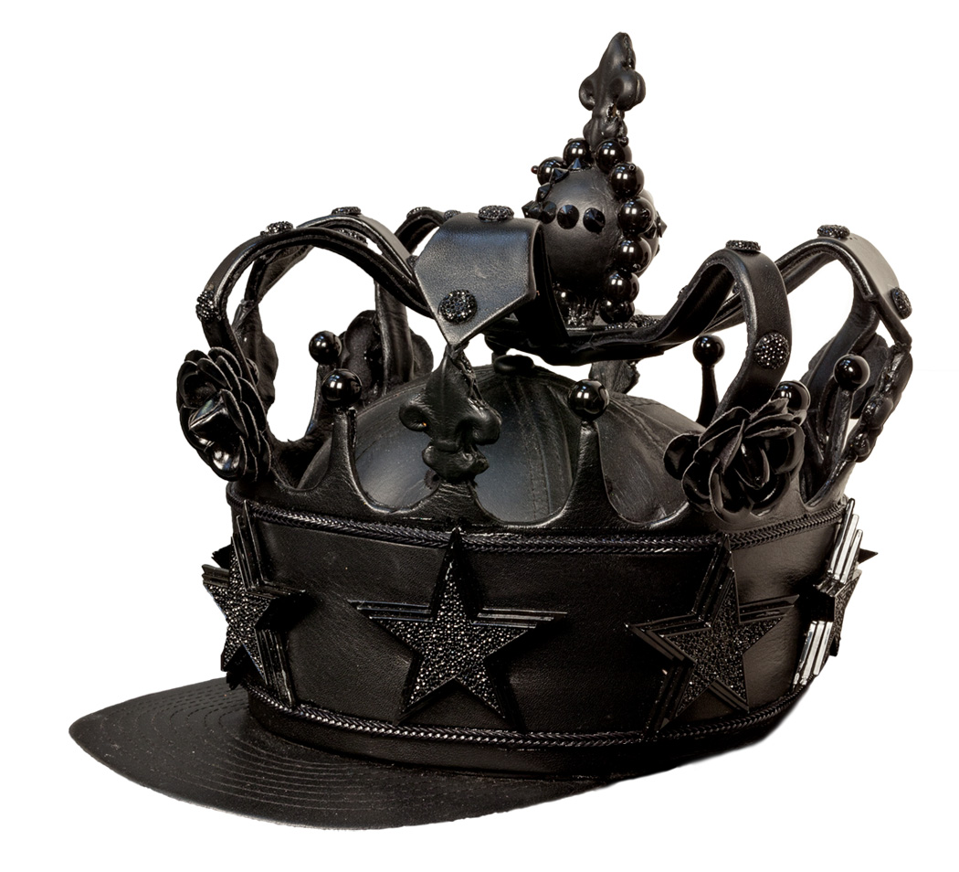 Newsome, King of Arms Crown (email), 2013, mixed media, 10 x 10 x 11, NX 6668