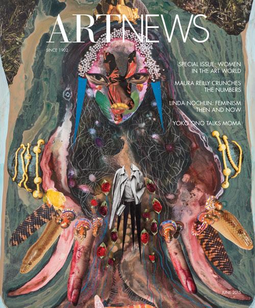 artnews - june 2015 cover