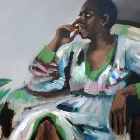 Porter Magazine Reports on 'Quiet Power' of Lynette Yiadom-Boakye's Paintings