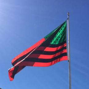 At MoMA PS1, David Hammons's 'African American Flag' Beckons Visitors to 'Greater New York'