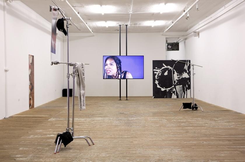 martine syms - installation view - bridget donahue gallery