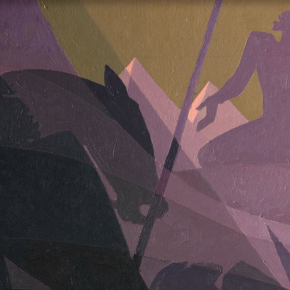 David Driskell Discusses Major Aaron Douglas Painting Acquired by The Met