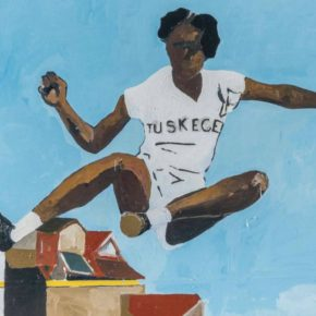 At Christie's Auction, Henry Taylor Painting of Historic Track Star Sets Record for Artist