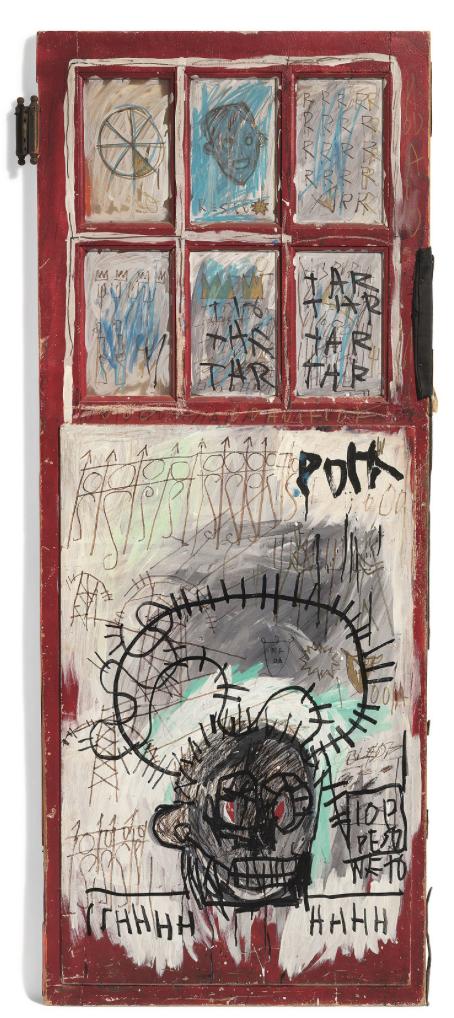 JEAN MICHEL BASQUIAT - Pork 1981