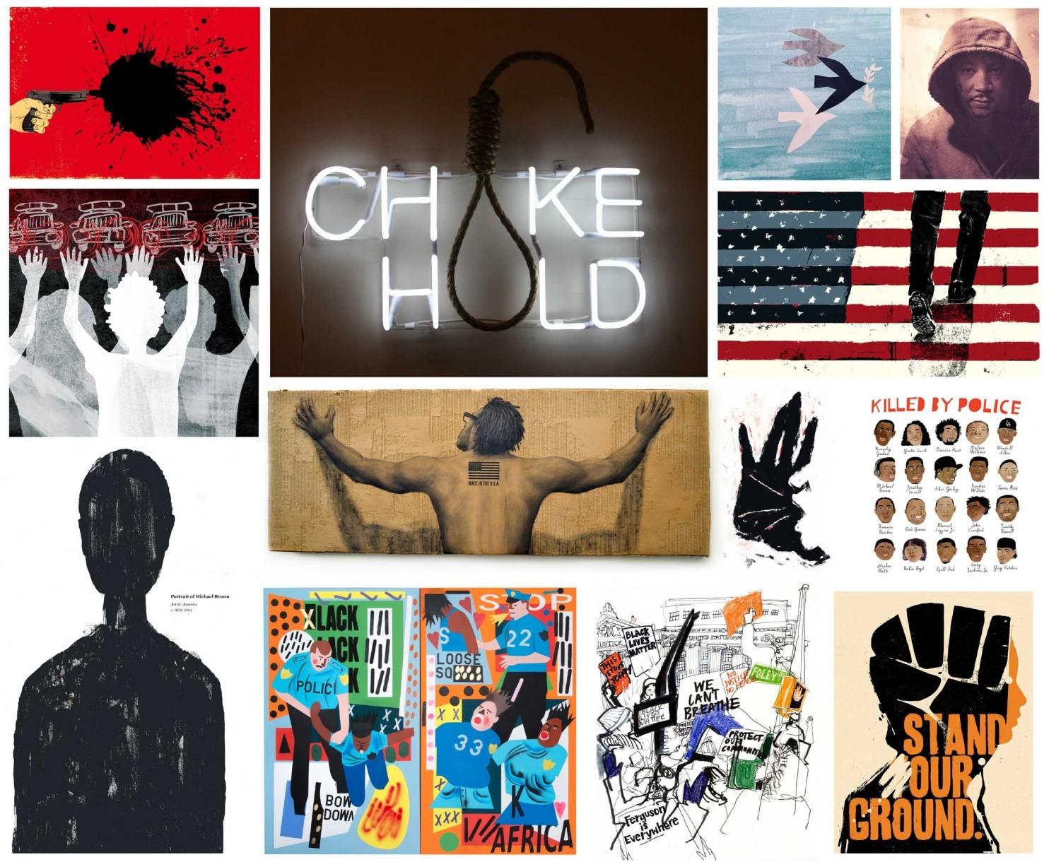 black lives matter art on instagram - washington post