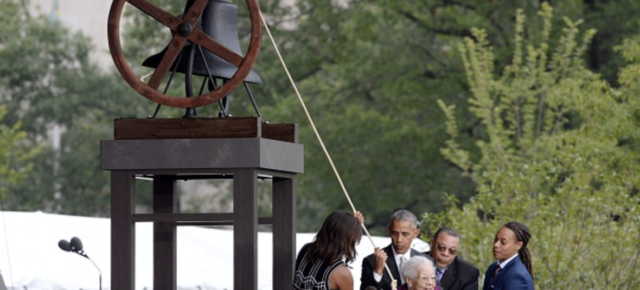 President Obama Dedicates New Smithsonian African American Museum, Quotes Langston Hughes Declaring 'I, Too, Am America'
