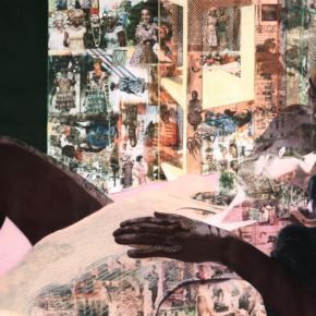 Market Interest: With Intimate Portrait, Njideka Akunyili Crosby Achieves Auction Record for Second Time in Two Months