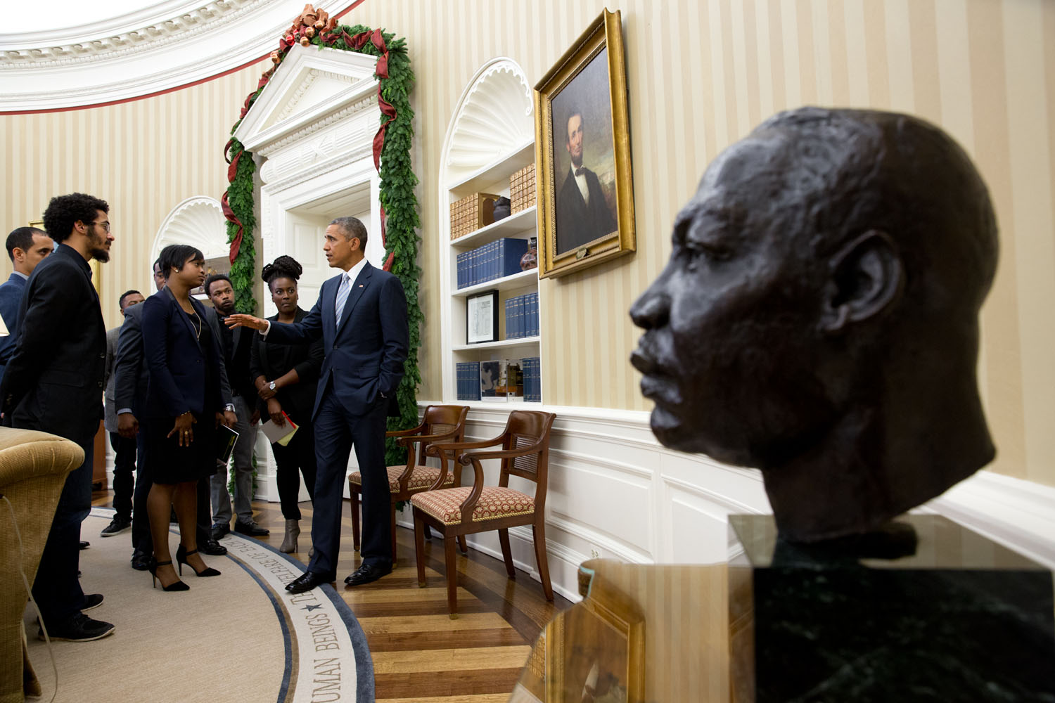 With Words And Deeds President Obama Pays Tribute To The