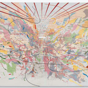 Detroit Museum Exhibits Major Painting by Julie Mehretu, First in Series of Works on Loan by Black Artists