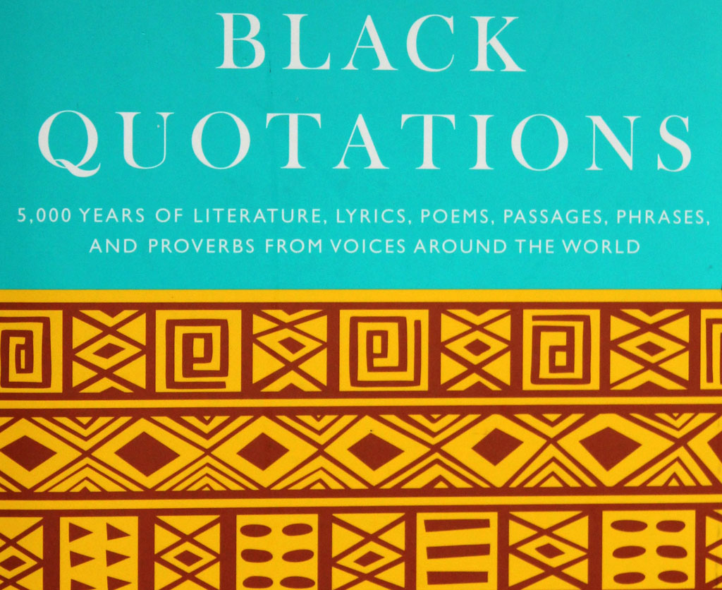 a02b348b61a6 Bartlett s Black Quotations  New Volume Features Insight from Artists