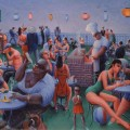 "Painting titled ""Barbecue""by Archibald Motley, Jr. ; 1960"