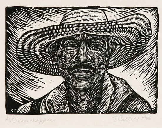 weschler s african american art sale features 63 elizabeth catlett prints from private. Black Bedroom Furniture Sets. Home Design Ideas
