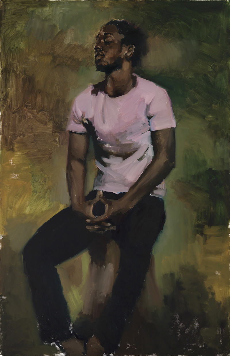 Lynette Yiadom-Boayke Works on Canvas