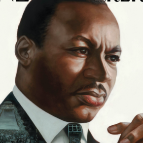 Illustrator Kadir Nelson Envisions Martin Luther King Jr. for Cover of New Yorker