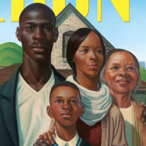 Ebony Cover by Illustrator Kadir Nelson Projects 'American Ideals, African American Patriotism, and Love of Family'