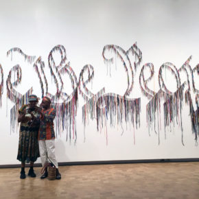 Vilcek Prize Winner Nari Ward to Recreate 'We the People' Installation at New-York Historical Society on President's Day